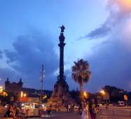 The Columbus Monuments marks the beginning of his journey in 1493, located at the end of La Rambla.