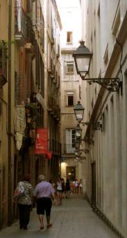 Taking a walking tour is a great way to discover the stories and legends behind Barcelona - GOTHIC QUARTER