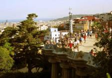 Covering over 15 hectares this is the Parc Guell and its fantastic views over the city.