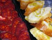 Tapas are typical Spanish food that come in many different forms and can vary from town to town.