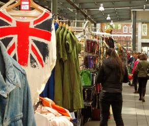 Brick Lane Market - LONDON, England