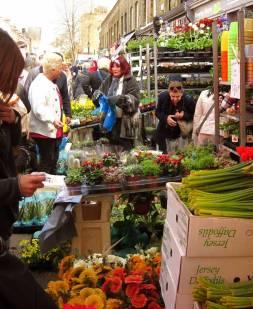 Flower Market - LONDON, England