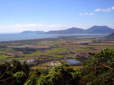 Beautiful views of the Northern region - Up into the KURANDA RANGE.