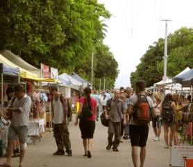 The ESPLANADE MARKET gives shoppers a good showcase of locally produced products.
