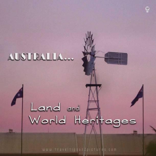 Australia, World Heritages, Oceania, ancient world