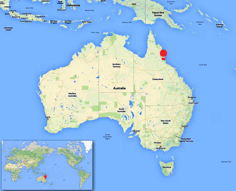 Where Is Port Douglas Australia Map