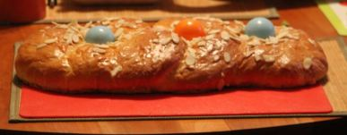 Recipes, German Easter Bread (aka Osterbrot)
