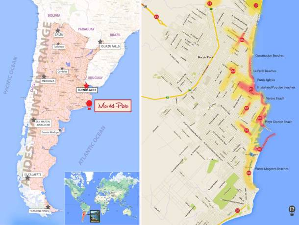 Mar del Plata, MDQ, ttp, Argentina, Buenos Aires, best beaches, travel, things to see and do, map, location, what to do